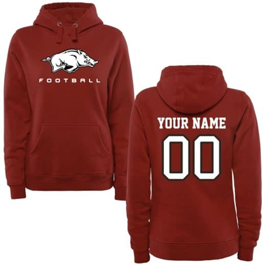 plus size arkansas razorbacks hoodie, womens 3x 4x arkansas hoodie, 3xl 4xl womens arkansas