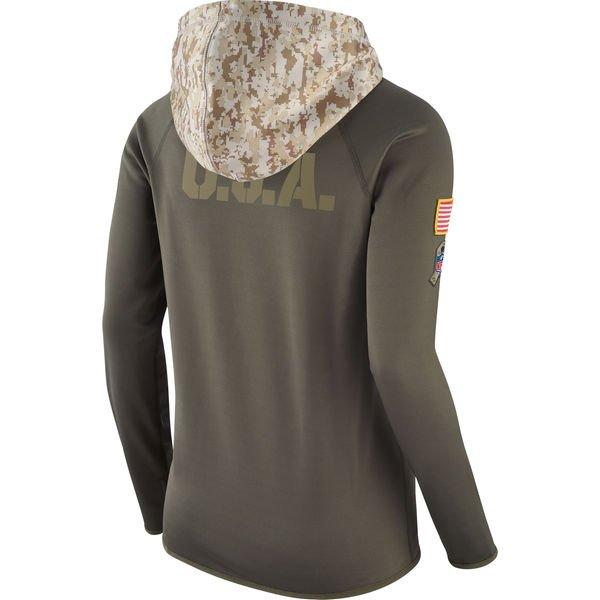 womens salute to service hoodie