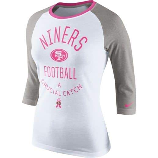 98e4fae9624 Pink Breast Cancer Awareness NFL Shirts