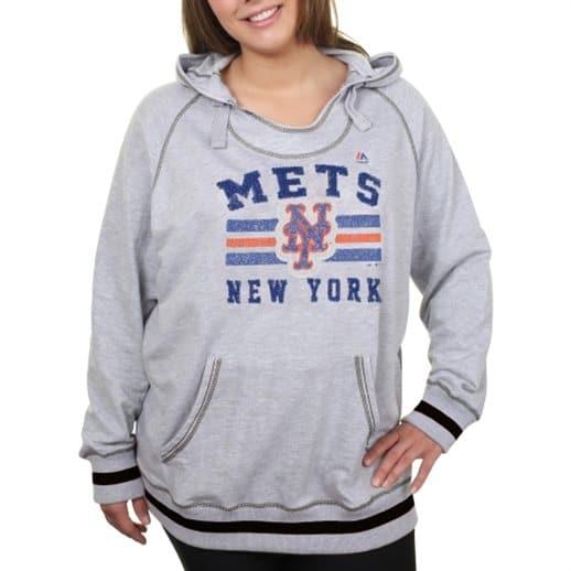 half off 4f0d9 322a7 Womens NY Mets Hoody, Tee, Jacket Plus XXL, 1X, 3X, 4X Shirts