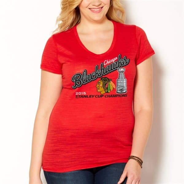 various colors 89a90 cf011 Plus Size Chicago Blackhawks Tee, Tank, Hoodie 1X 3X 4X