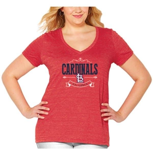 cheap for discount 5cacc c3b74 Womens St. Louis Cardinals Plus XXL, 1X, 3X, 4X Tee, Tank ...
