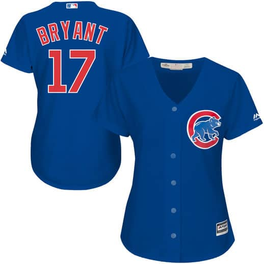 bc3d64d7 Chicago Cubs Plus Size Jersey, Bryant, Schwarber, Rizzo, Russell