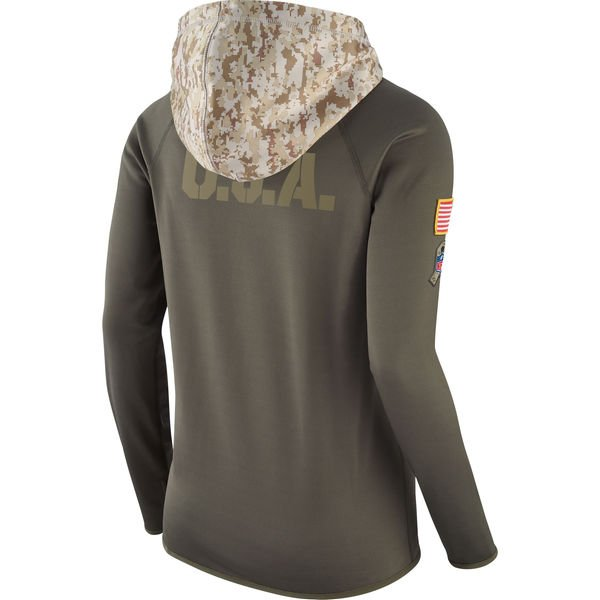buy online a3078 dee72 Womens Salute to Service Hoodie, Nike Tee, Military Tribute ...