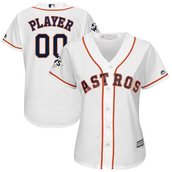 newest 55124 099f0 Ladies Houston Astros World Series Tee, Jersey Plus 1X, 2X ...
